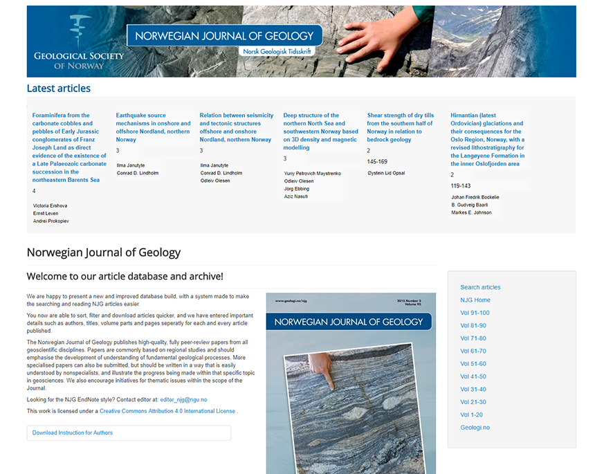 Norwegian Journal of Geology (NGF)